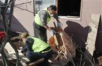 週末、ボランティアも活動 震度6弱の北海道厚真町 けが6人に