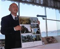 阪神大震災の教訓27枚に 神戸の伝承団体が南三陸で防災啓発写真展