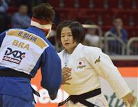 柔道女子57キロ級の芳田司「ホッとした」 48キロ級の渡名喜風南「安定し勝っていかない…