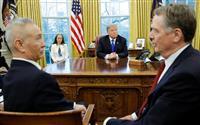 米中決裂回避も構造改革は隔たり 貿易摩擦交渉は最終局面に