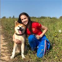 秋田犬マサル、ロシアで大人気 「そろって来日を」とザギトワ選手