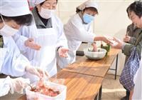 学業成就の「梅がゆ酸っぱ~い」 神戸・綱敷天満宮