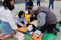 児童手作り「防災祭り」 瑞穂第三小で開催