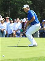 世界選手権ゴルフ19位松山「パットが入ってくれない」