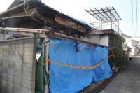 大阪・熊取の2人死亡火災、放火容疑で無職男を逮捕
