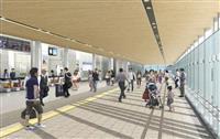 近鉄大和西大寺駅の通路設置工事、本格化