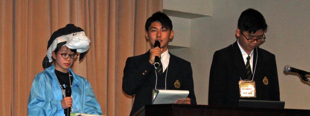 【ソロモンの頭巾】高校生の環境活動 若い力と発想が日本の将来担う 長辻象平
