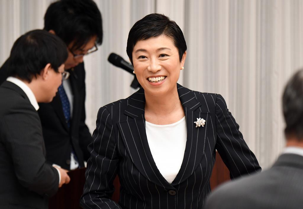 立憲民主党の辻元清美・国対委員長