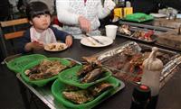東北産カキ食べてね 復興支援、ハピテラスに「出張小屋」 福井
