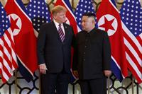 米朝首脳が8カ月ぶり再会談 トランプ氏「経済支援に日本も協力」