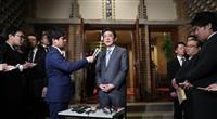 安倍首相「安易な譲歩せず決断、全面支持」 トランプ氏と電話会談
