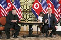 トランプ氏「スピード重要でない」 金委員長持ち上げ 米朝首脳会談