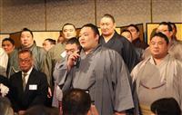 「地元の応援に感謝」大阪場所前に学生相撲出身力士ら