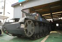 「ガルパン戦車」を再現 ファンが集結する茨城・大洗