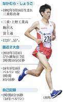 【東京マラソン・選手紹介(下)】中村匠吾(26) 自信の3戦目、四強に「強いところ見せ…