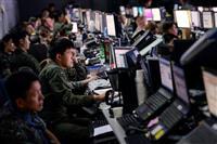 米韓合同の軍事演習、規模縮小へ 米NBC報道