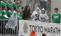 【東京マラソン】スタート地点でマーティ・フリードマンさん生演奏 世界的ギタリストがラン…