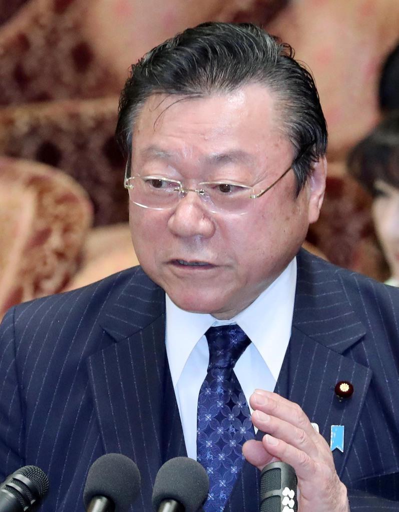 2月14日の衆院予算委員会での桜田五輪相