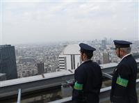 ビル屋上からドローン警戒 東京マラソンで新宿署