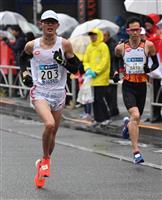 【東京マラソン】初マラソン堀尾謙介が日本人トップ5位 学生初のMGCは「食らい付く」