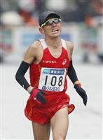 """【東京マラソン】元祖""""山の神""""今井正人、悪天候をプラスに日本人2位"""