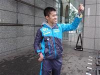 【東京マラソン】「この歓声を東京パラでも」 脳性麻痺の陸上トラック選手・井草貴文さん