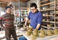 北海道地震から半年 登り窯を失った陶芸一家、再起を誓う