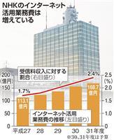 NHKのネット配信可能に 放送法改正案を閣議決定