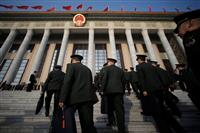 中国の成長率目標は6~6・5% 国防費は7・5%増