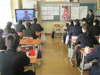 北朝鮮拉致問題で公開授業、埼玉・桶川西中