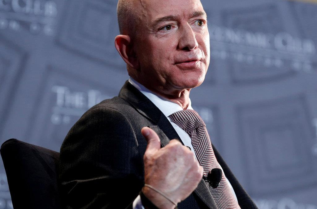 アマゾンのベゾス氏世界一 資産14兆円超、2年連続 - 産経ニュース