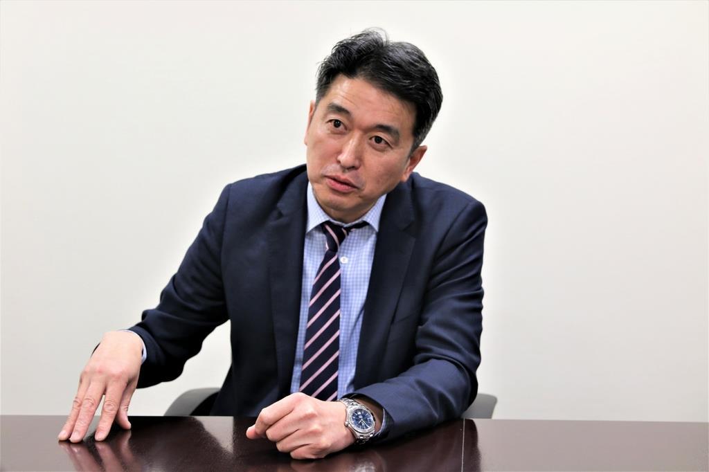 J-POWER国際業務部の末永孝部長