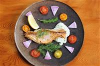 【料理と酒】アマダイのムニエル パセリのタルタルソース
