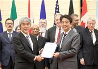 安倍首相、海洋プラごみ削減へ G20で「リーダーシップ発揮」