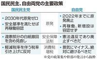 【野党ウオッチ】「政策は相違ない」合併へ突き進む国民・自由