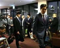 松井一郎知事、吉村洋文市長が8日に辞職表明へ、4月7日に入れ替えダブル選