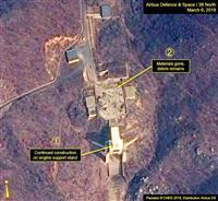 北朝鮮のミサイル発射場、稼働状態に戻る 米シンクタンクが分析発表