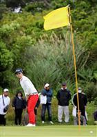 比嘉真美子71、2位に7打差 女子ゴルフ第3日