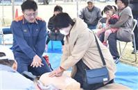 震災8年「記憶風化させない」 液状化被害の茨城・潮来市で訓練