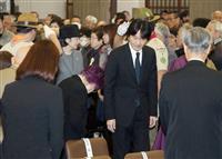 戦争、繰り返さない 東京大空襲74年で法要