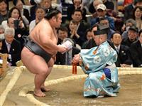 貴景勝、突き押しで快勝 大関昇進へ上々の発進 大相撲春場所