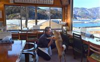そば店を再建、愛犬と味守る日々