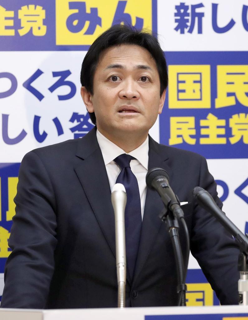 国民民主党の玉木雄一郎代表