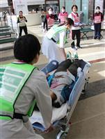 大規模災害を想定 大田原・那須赤十字病院、患者受け入れ訓練