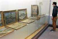 絵画や写真で「丹後震災」伝える 丹後古代の里資料館で企画展