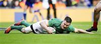アイルランドが3連勝 欧州6カ国対抗ラグビー
