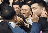 韓国の全斗煥氏が光州地裁に出廷 光州事件にからみ
