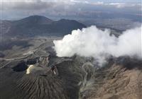 阿蘇山の警戒レベル2に 火山活動高まる、気象庁