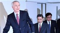 ルノー会長、日産会長への就任否定 3社連合に新意思決定機関