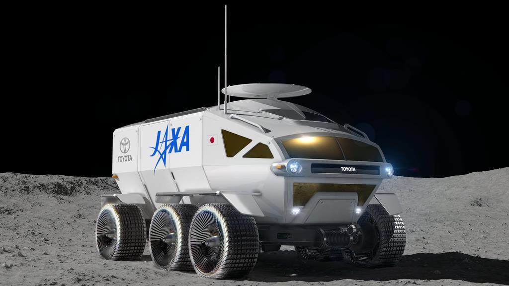 【速報】トヨタが宇宙服不要な月面車を開発! 2029年に打ち上げ予定